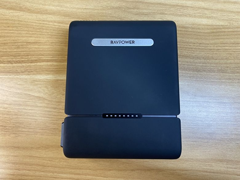 RP-PB055JP(new version) レビュー|AC100W、PD60W対応の大容量モバイルバッテリー