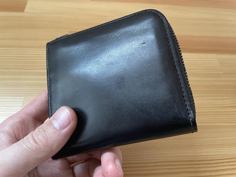 【Slice コンパクト財布】のお手入れ