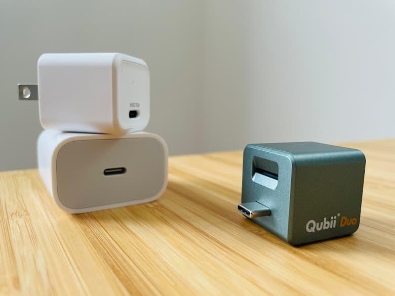 QubiiとQubii Pro,Qubii Duoの使い方|バックアップできる,できないもの紹介